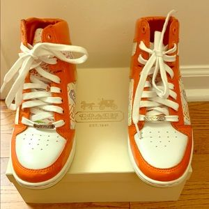 Brand New Coach High Top Sneakers
